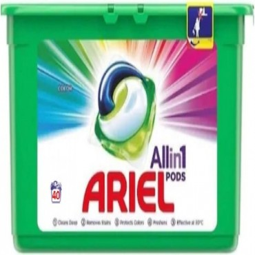 Detergent capsule Ariel Color All in One PODS 40x23.8 ml