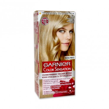 Vopsea de par Garnier Color Sensation 8.0 blond deschis luminos