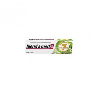 Pasta de dinti Blend-a-Med Complete 7 Herbal 100 ml