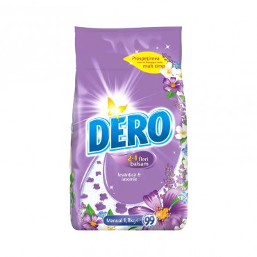 Detergent manual Dero Surf  2 in 1 Levantica 1.8 kg