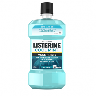 Apa de gura  Listerine Zero Cool Mint 500 ml