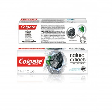 Pasta de dinti Colgate Natural Extracts Activated Charcoal + White Mint Toothpaste 75ml