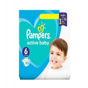 Scutece Pampers Active Baby Dry nr.6 10/set