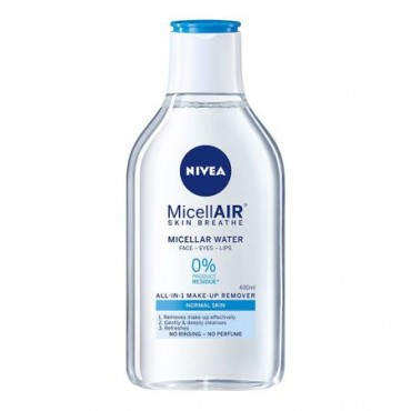 Apa micelara delicata pentru ten normal Nivea Micellar Water 400ml