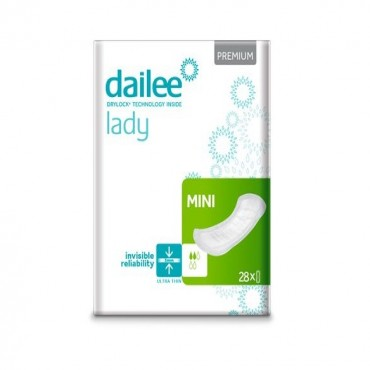 Absorbante urologice DAILEE LADY Premium 2 Pic. Mini 28 buc.