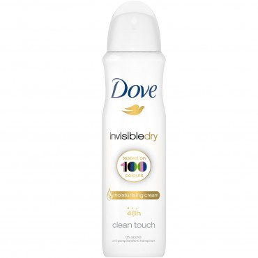 Deodorant antiperspirant spray Dove Invisible Dry 250ml