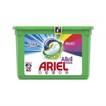 Detergent capsule Ariel 3in1 Pods Lenor Touch 39x29.9 ml