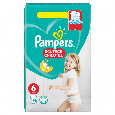 Scutece chilotel Pampers Active Pants nr.6 14/set