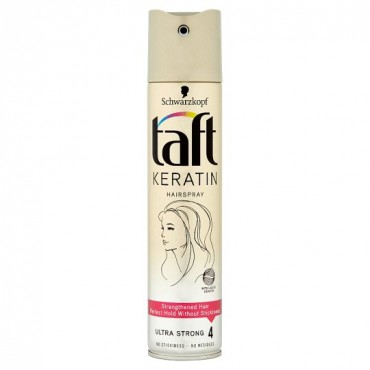 Lac fixativ Taft Keratin Ultra Strong Nr 4 250ml